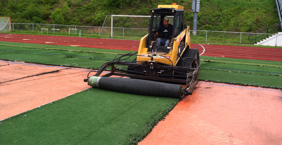 turf removal machine